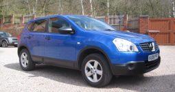 Nissan Qashqai 1.6i Petrol Visia 2WD 5dr Beautiful Mauritious Blue!