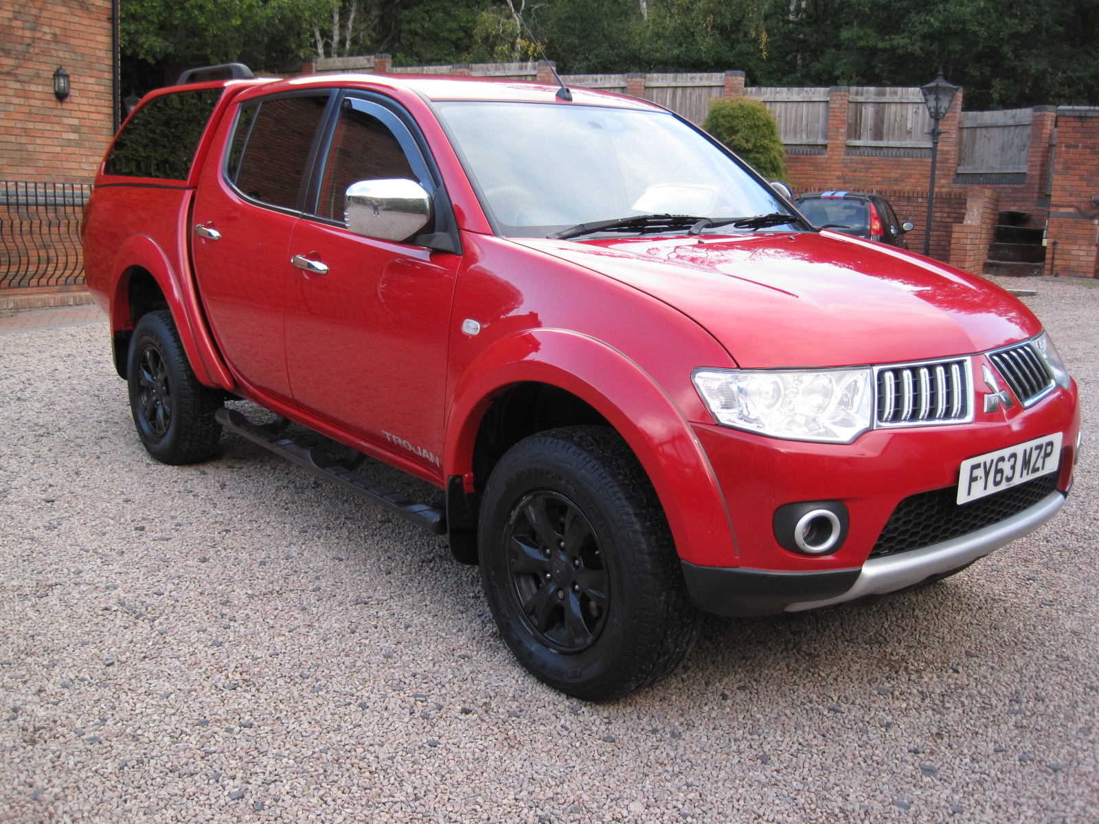 2013 63 Mitsubishi L200 2.5 DI-D Trojan Double Cab 4WD 4dr EXCELLENT CONDITION THROUGHOUT! NO VAT!