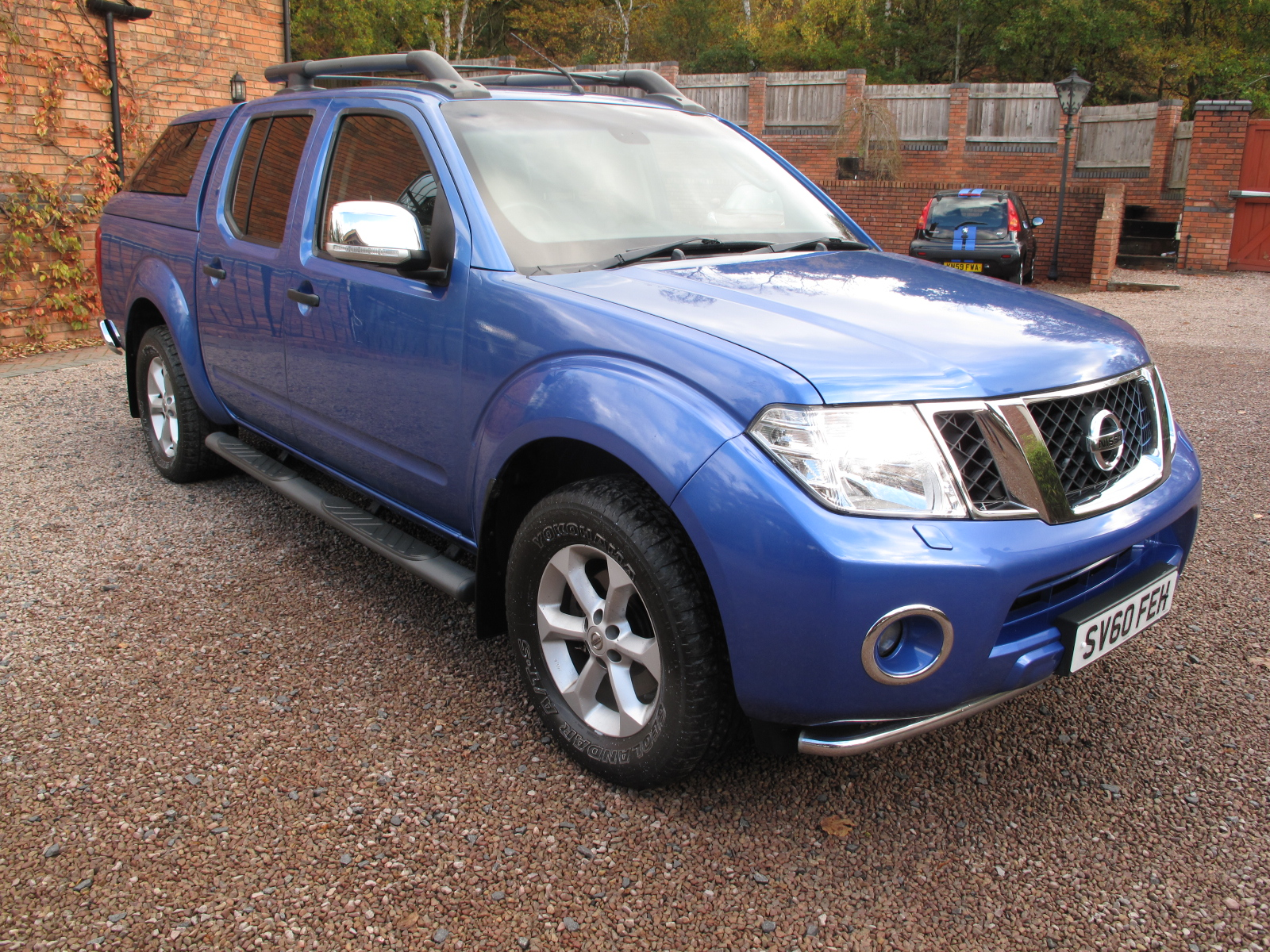 2010 60 Nissan Navara 2.5 dCi Tekna Premium Connect Double Cab Pickup 4WD ONLY 62K MILES, ABSOLUTELY PRISTINE CONDITION NO VAT!