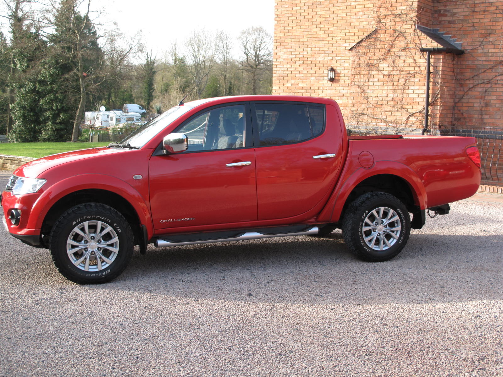2015 15 Mitsubishi L200 2.5 DI-D CR Challenger Double Cab Pickup 4WD STUNNING TRUCK THROUGHOUT! ONLY 1 OWNER! NO VAT! full