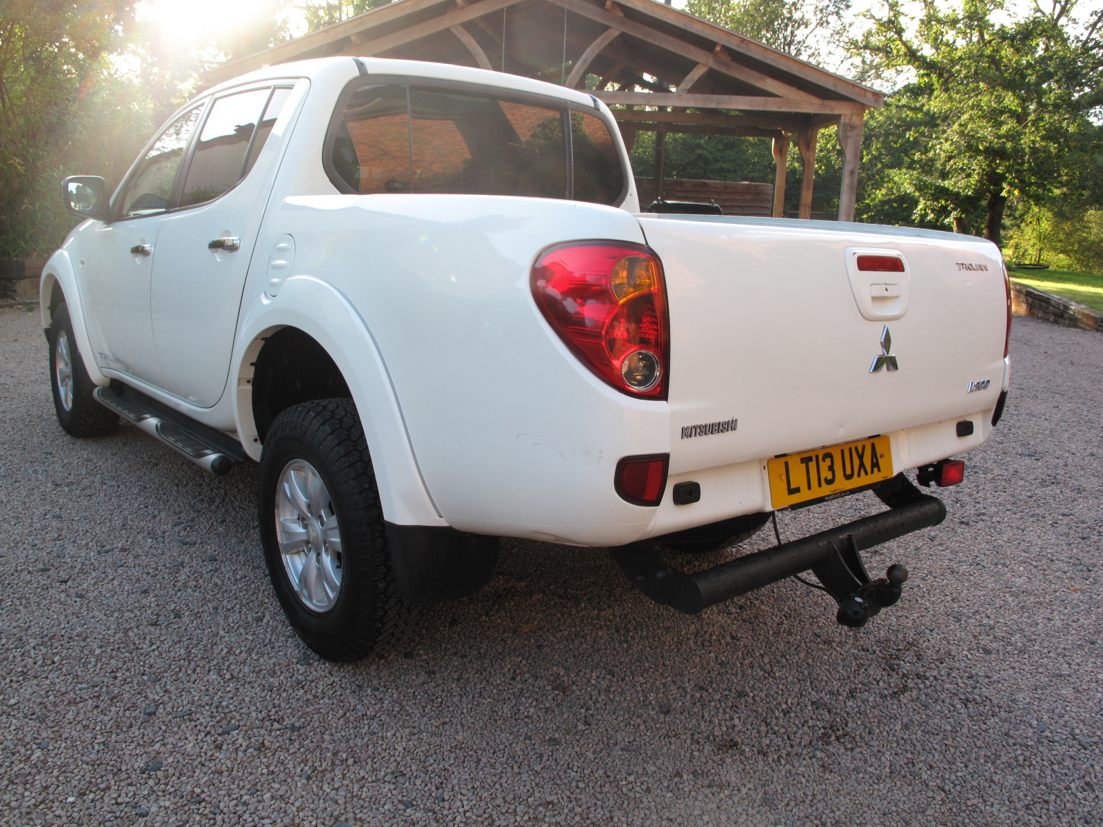 2013 13Mitsubishi L200 2.5 DI-D Trojan Double Cab 4WD 4dr VERY LOW MILES! IMMACULATE CONDITION! NO VAT! full
